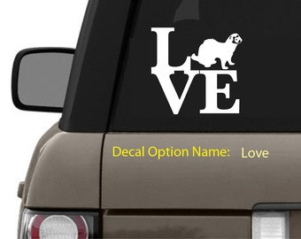 Vinyl Ferret LOVE Decal
