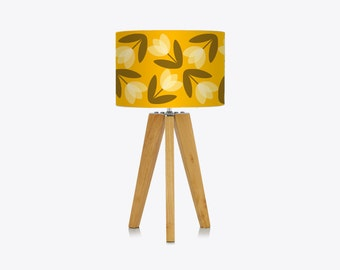 Tulip Lampshade in Yellow