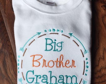 Big Brother Little Brother - Big Brother Shirt - Big Brother Announcement Shirt - Big Brother Little Sister