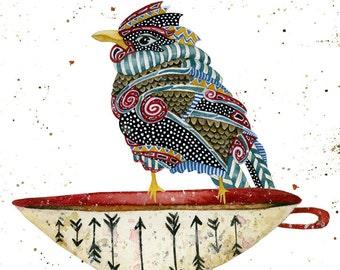 Art Print. Spirit Bird 2