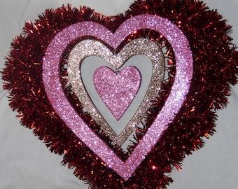 Shiny Heart Wreath