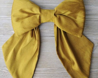 Golden Silk crib bow