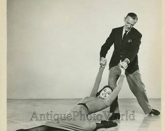 Fred Astaire dancer w partner vintage movie photo