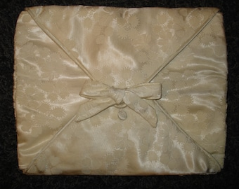 Heirloom Keepsake Jewelry Pouch - made from an old wedding dress you supply