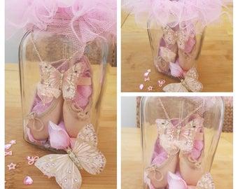 Memory Ballet shoe jars/frames