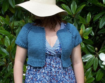 Knitted  Shrug Pattern