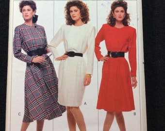 Butterick Very Easy Misses'/Misses' Petite Dress Pattern 6663 Size 12, 14, 16 Family Circle