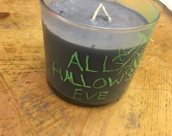 All Hallow's Eve Candle 14 oz Halloween Candle 2016