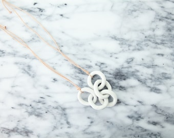 ceramic chain necklace