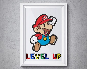 Super Mario, Instant Download, Super Mario Bros.