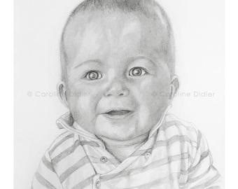Custom Portrait - Drawing