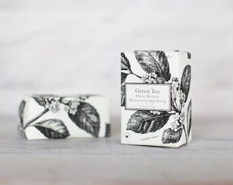 Green Tea Moisturizing Shea Butter Soap