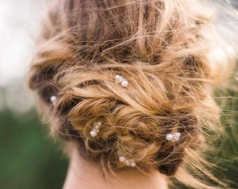 Set of 5 Gold Beaded Hair Pin Set of 5 Pearl Hair Pin Bridal Hair Pin Bridal Bobby Pin Beaded Bobby Pin Pearl Bobby Pin #100