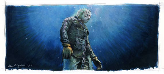 Friday the 13th Part VI - Jason Lives Art Poster Print