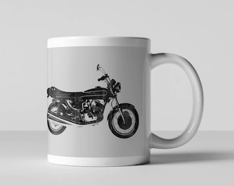 Vintage Motorcycle, Triumph, Classic, Honda, Harley Davidson Coffee Mug, American, America, Kawasaki, Coffee Mug, Fun Coffee Mug, Coffee Cup