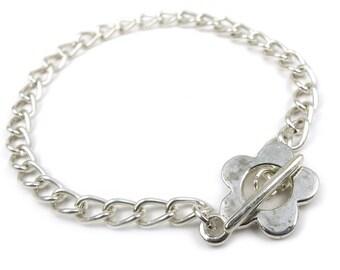 2 x Charms chain bracelets base 18cm