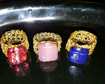 Crochet ring. hot sale. free shipping