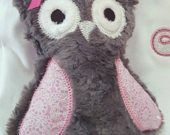 Stuffed Owl - Owl Stuffed Toy - Owl Softie - Owl Toy - Gifts under 10 - Owl Stuffed Animal - Stuffed Animal - Stuffed Toy - Decorative Owl
