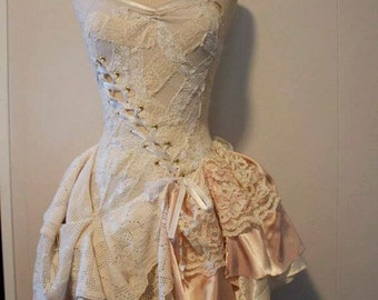 Steampunk wedding dress   Etsy