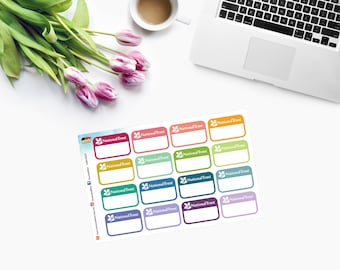 The National Trust ~ Event ~ Planner Stickers ~ CAM00317