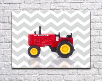 Tractor nursery print, boys room decor, nursery poster, nursery decor, tractor room decor, tractor poster, transportation decor, tractor art