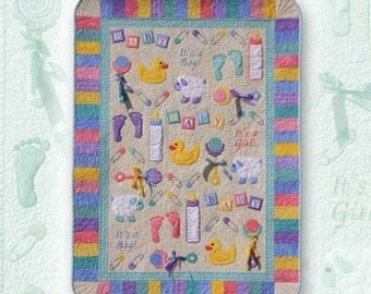 Everything Baby Quilt Pattern