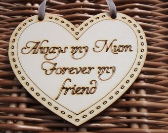 Always My Mum, Thank you Mother, Mother of the Bride Gift, Gift for Mum, Mother's Day gift, Mothers day