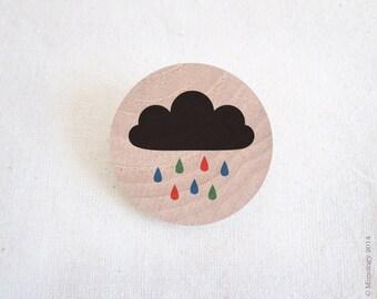 RGB Rain Brooch
