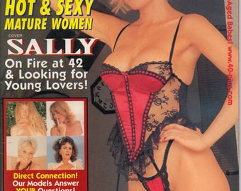 40+ Magazine May 1998 Near Mint condition Mature Milf Cougar