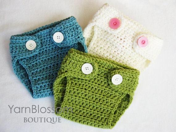 Diaper Crochet Pattern Diaper Cover Baby Photo Prop
