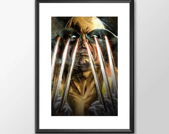 Wolverine Claws - Classic Superhero  - PRINTED - BUY 2 Get 1 FREE