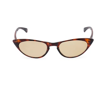 1950s 60s style  'Peggy'' Tortoiseshell CAT EYE sunglasses or sun readers NEW made to original vintage design