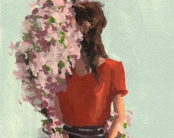 Ring of Roses . giclee art print