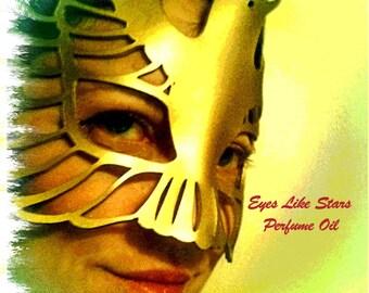 EYES LIKE STARS Perfume Oil -  Heliotrope, Iris, Black Musk - Fantasy Fragrance - Fantasy Perfume Oil