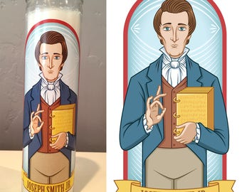 Joseph Smith Prayer Candle