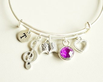 Choir Gift, Choir Director Gift, Band Director Gift, Music Teacher Gift, Choir Director Bracelet, Orchestra Conductor, Orchestra , Music