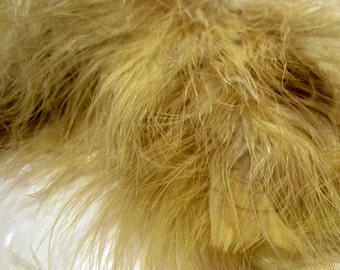 Olive Dun Marabou Feathers MRDQ-07Craft feathers