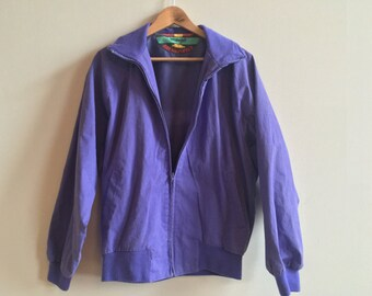Vintage Wrangler Purple Brushpopper Jacket