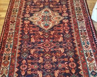 Persian Floor Rug - Runner - Semi-Antique Persian Runner
