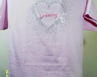 """Rhinestud """"Grammy"""" T-Shirt"""