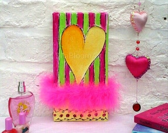 Colourful heart artwork,  colourful painting,  colourful heart painting, vivid heart artwork, vivid painting, vivid heart painting,