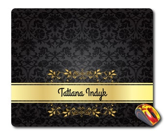 Personalized Name Mouse pad Personal name gift Personalised mouse mat Monogram mouse pad Custom mouse pad Personalized pad Custom mousepad