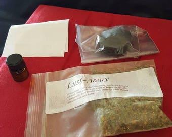 Lust - Away spell kit