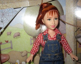"""Fern from Charlotte's Web When I Read I Dream Series 8"""" Doll with Wilbur Pig by Mattel # 50724"""