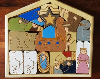 Boxed Nativity / Puzzle