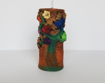 Tree of Life candle - Handmade candle - Decorative candle