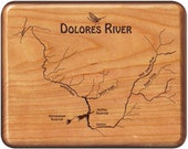 DOLORES RIVER Map Fly Box...