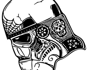 Sugar skull Stormtrooper