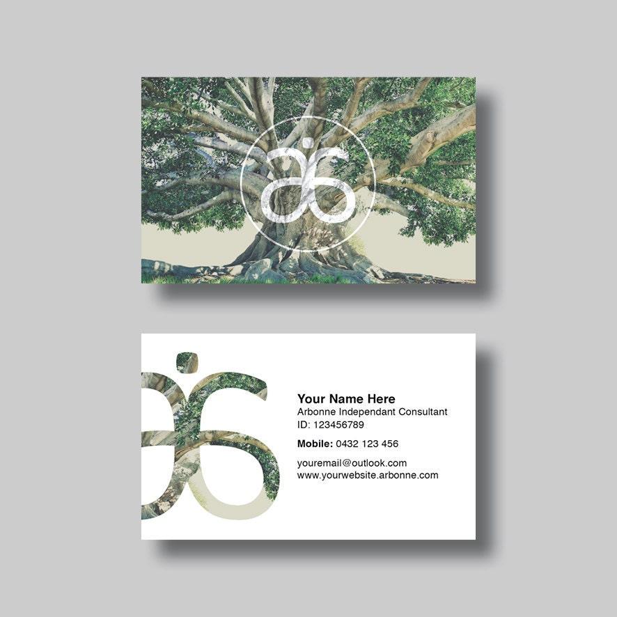 Arbonne Business Card Life Digital Design
