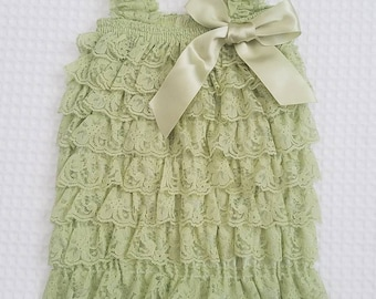 Girl's Lace Rompers